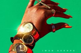 iman europe time cover