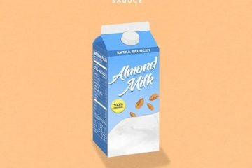almond milk cover