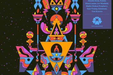 Artwork for Tensei's EP Constellate