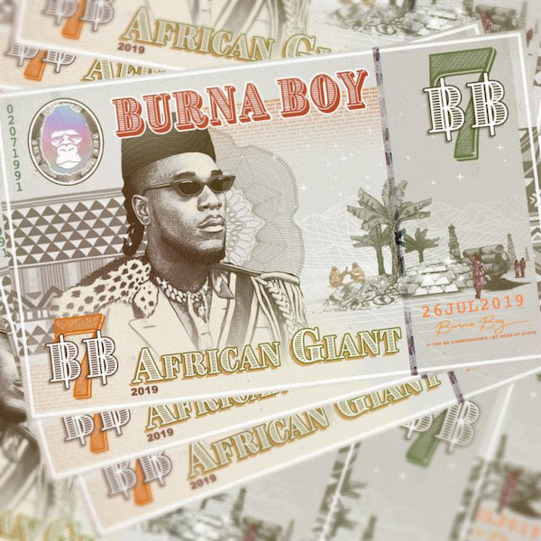 burna boy african giant album stream