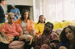 "Watch Leven Kali, Smino & Topaz Jones in the clip for ""Homegirl"""