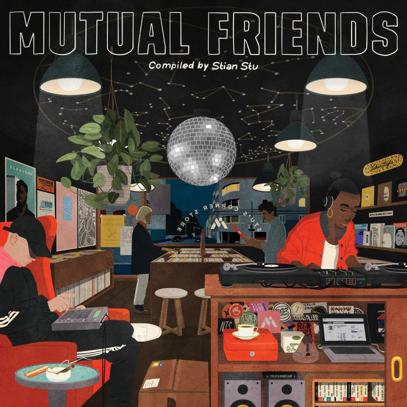 "Mutual Intentions presents new compilation ""Mutual Friends"""
