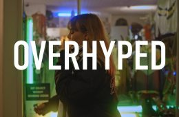 "SoulTrash share visuals for ""Overhyped"""