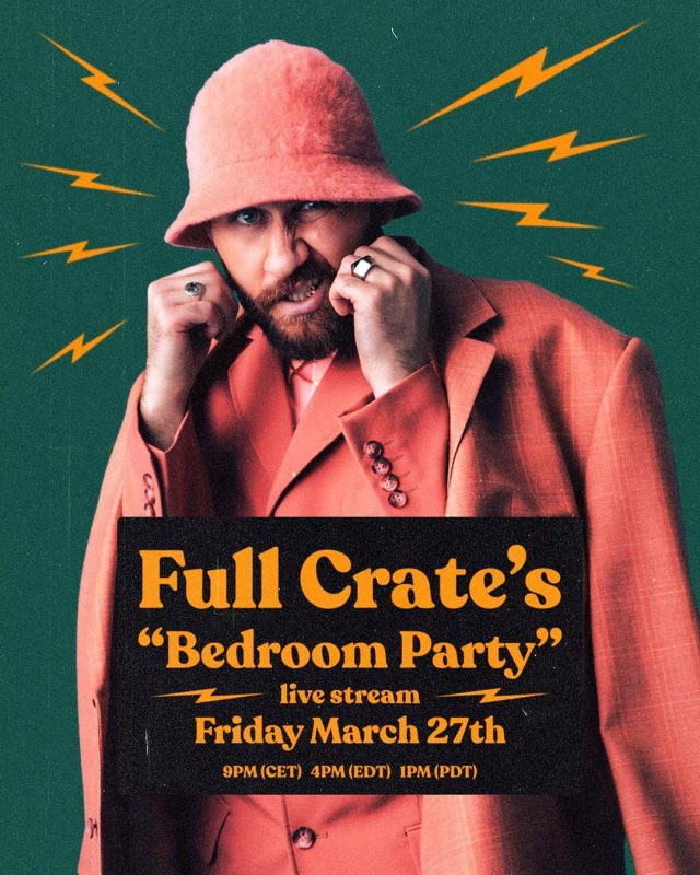 Full Crate's Bedoom Party