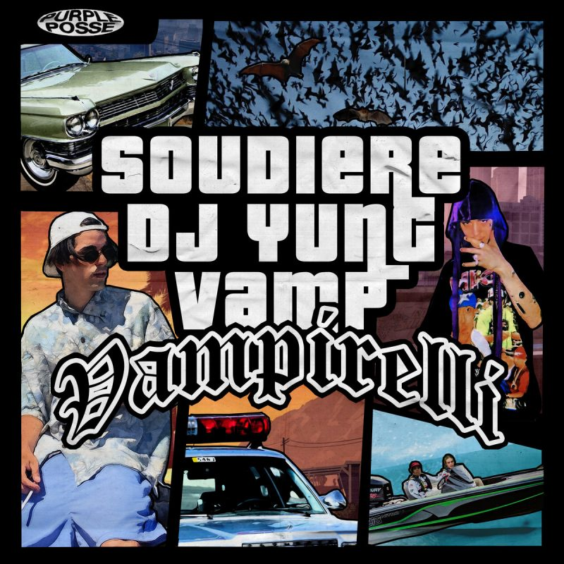 "Phonk heavy hitters SOUDIERE & DJ YUNG VAMP teamed up for ""VAMPIRELLI"""