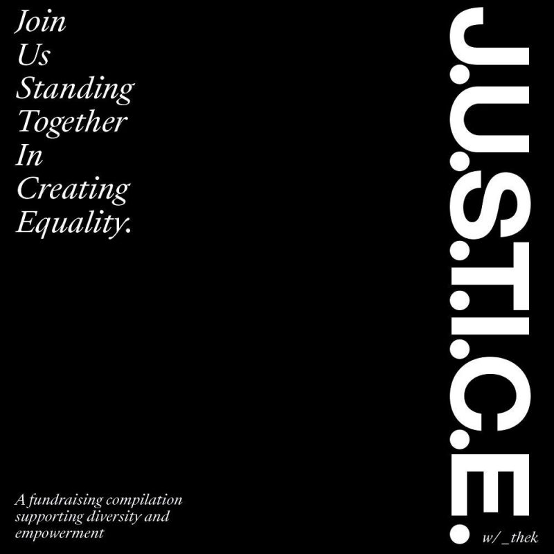 """""""J.U.S.T.I.C.E."""" – a fundraising compilation supporting diversity and empowerment"""