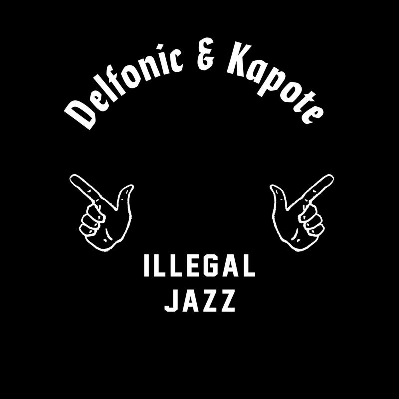 "Delfonic & Kapote bring jazzy vibes to the dancefloor with ""Illegal Jazz Vol. 1 + 2"""