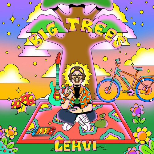 "Lehvi delivers summer vibes on his new EP ""Big Trees"""
