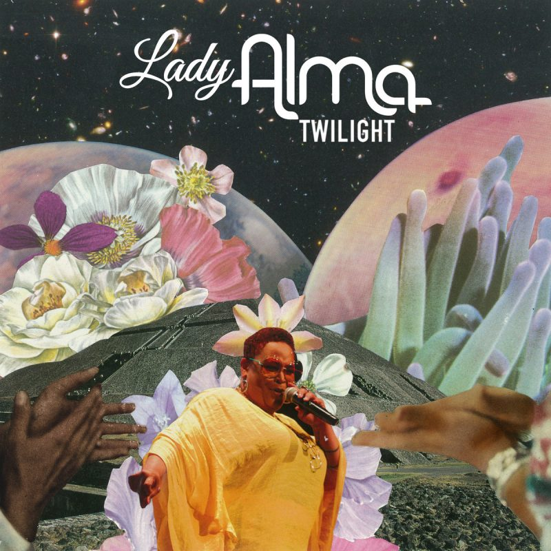 "Lady Alma teamed up with Mark de Clive-Lowe for new album ""Twilight"""