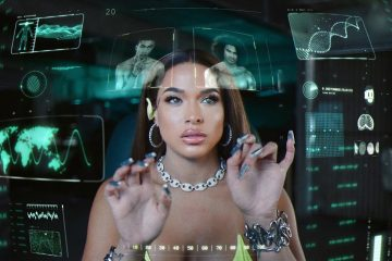 "Princess Nokia unveils futuristic visuals for ""I Like Him"""