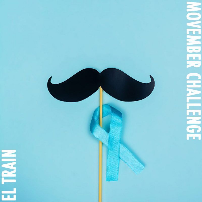 "El. Train dropped a song a day for ""Movember Challenge - 2020"""